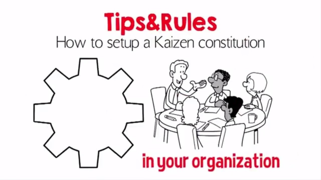 How To Kaizen - 10 Points To Build The Organization
