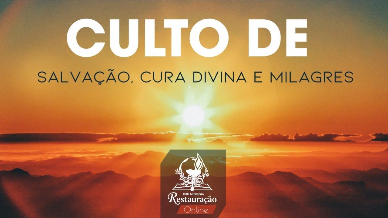 Transmissão ao vivo IPAD Ministério Restauração - (02/08/2020)