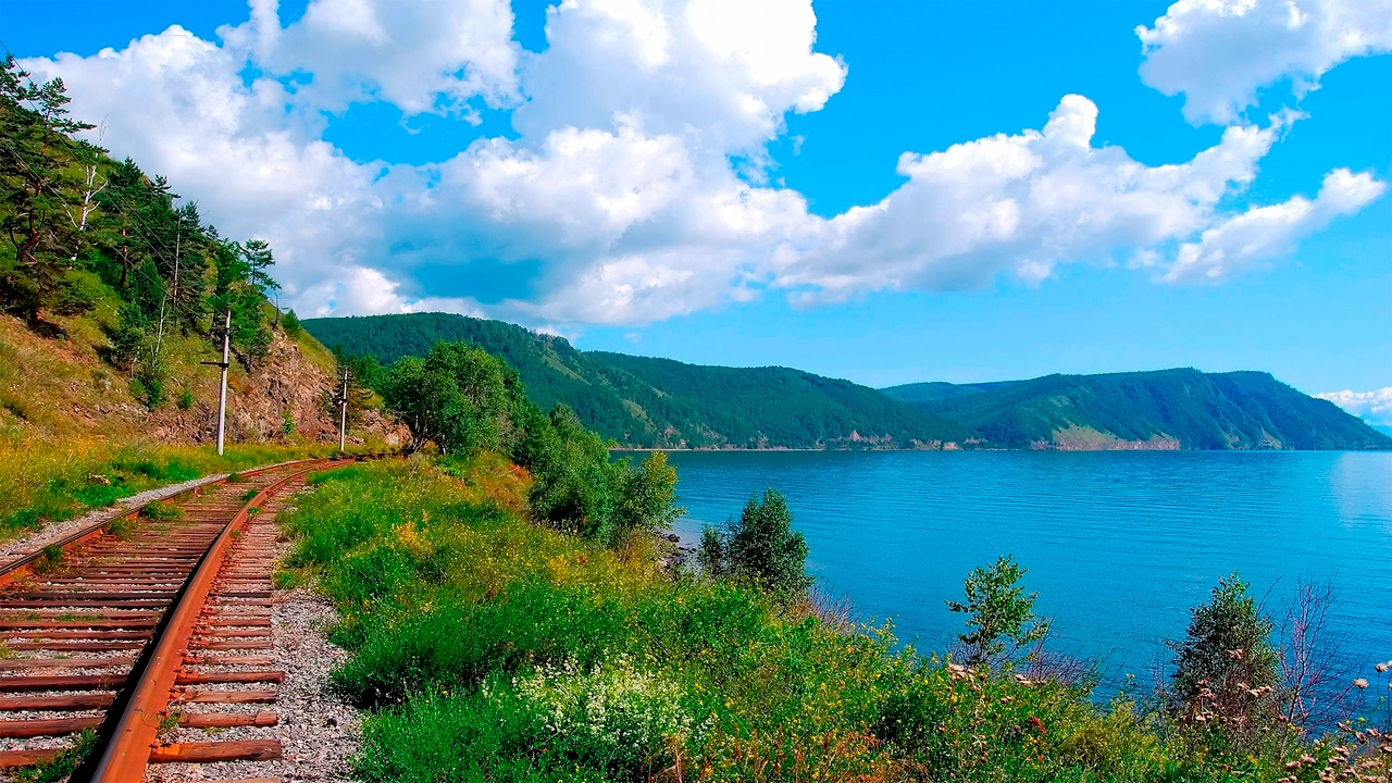 The Most Beautiful Place In The World Baikal Youtube