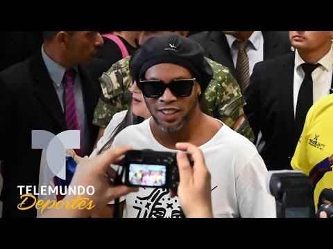 La peculiar llamada del juez a Ronaldinho que lo hizo salir de la cárcel | Telemundo Deportes