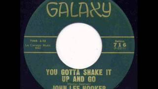 John Lee Hooker - Shake It Up And Go.