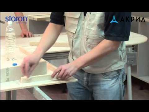 Акриловый столешницы своими руками