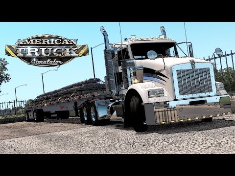 ATS 1.31 Gameplay | GTM Kenworth T800 - Few Accidents