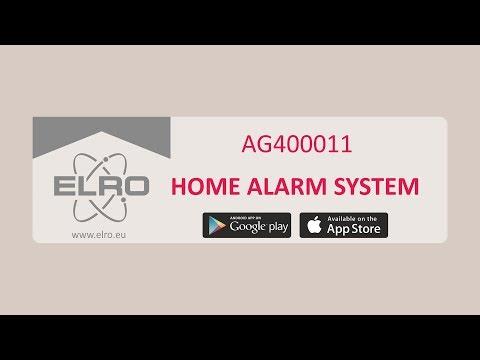 Installation der ELRO Hausalarmanlage (AG4000)