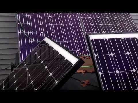Solar Generator: Self Installed Solar Powered Generator – Solar Panels