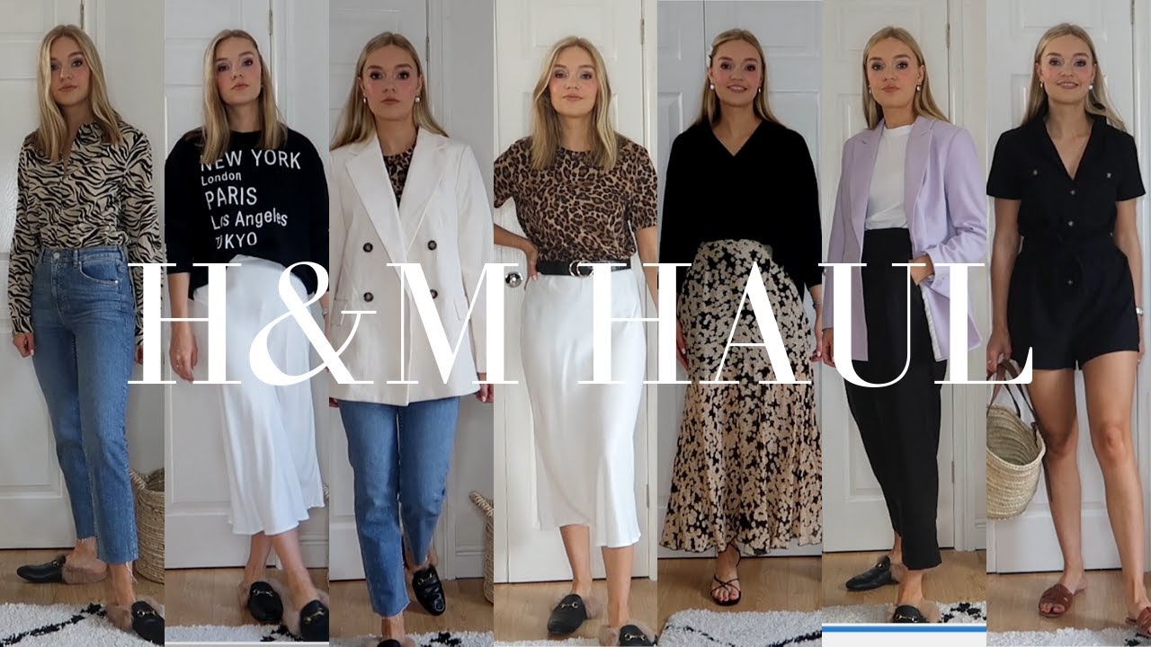 [VIDEO] - HUGE H&M HAUL AND TRY-ON, NEW SEASON ITEMS | LYDIA TOMLINSON 6