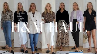 HUGE H&M HAUL AND TRY-ON, NEW SEASON ITEMS | LYDIA TOMLINSON