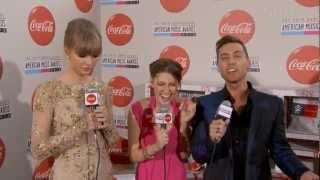 Taylor Swift Red Carpet Interview AMA 2012