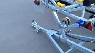 Прицеп для лодки Трейлер Дельфин 5,5 оптима