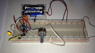 Clock utilizando CI 555 na configuração multivibrador astavel