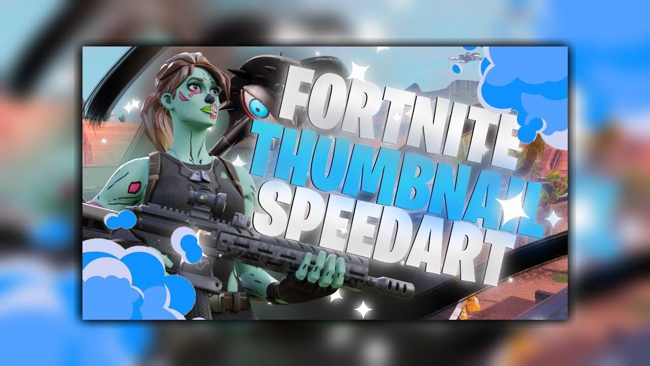 Fortnite Thumbnail Speedart Made On Mobile Youtube
