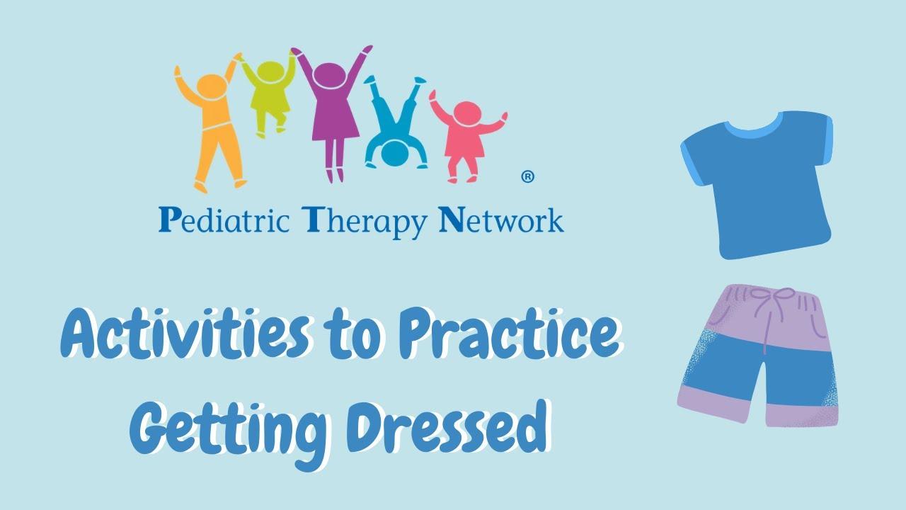 تعليم الاطفال لبس الملابس