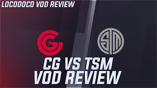 TSM vs CG - Why did TSM lose? - LCS Week 1 Locodoco [ VOD Review ]