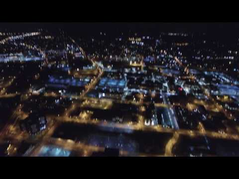 Night Time In Downtown Youngstown, Ohio