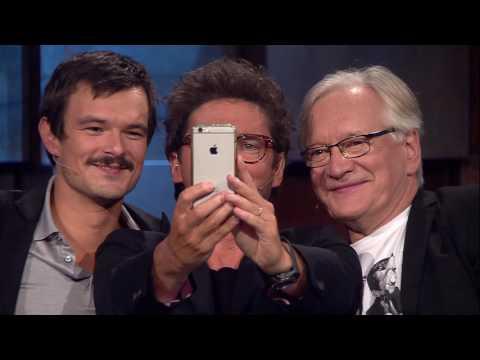 Dawid Ogrodnik, Andrzej Seweryn i Kuba Wojewódzki robią sobie selfie!
