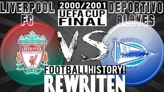 Fifa 2001 FC Liverpool vs. Deportivo Alaves (UEFA CUP FINAL)