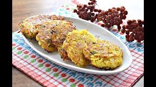 Постные картофельные оладьи без яиц
