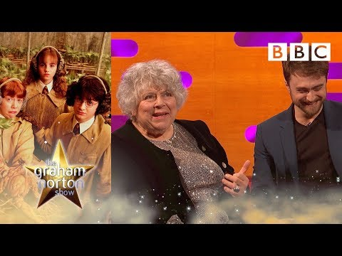Hilariously rude Harry Potter throwbacks with Daniel Radcliffe | Graham Norton Show - BBC