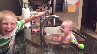 CUTE BABY FAILS | FUNNY FAILS | CUTE BABY PLAYING