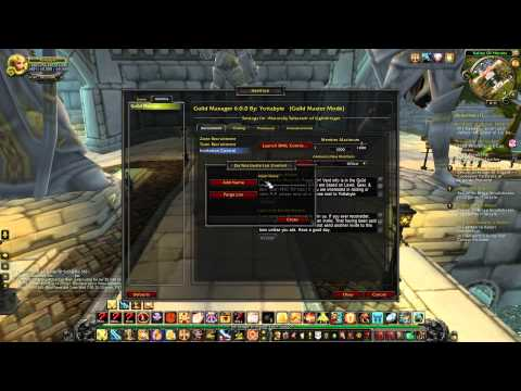 Guild Manager - Addon for World of Warcraft
