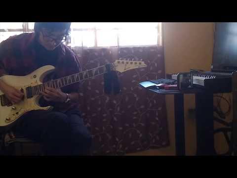 Gary Vs David Synth Battle Guitar Cover