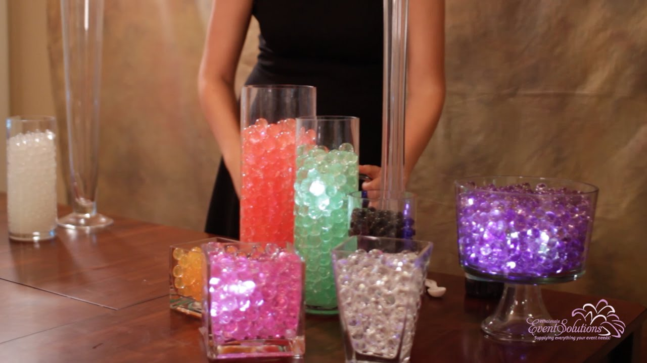 How To Make Water Beads How To Use Them Youtube