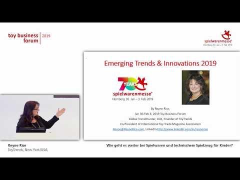Toy Business Forum 2019 - Wie geht es weiter bei Spielwaren und technischem Spielzeug für Kinder?