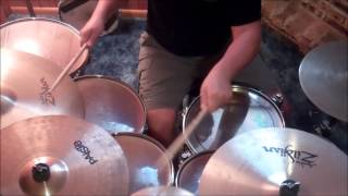 Beauty and the Mess Drum Cover by Craig Borchers