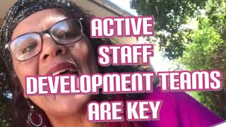 IQMS: The Staff Development Team is the Driver of the School's Professional development programme