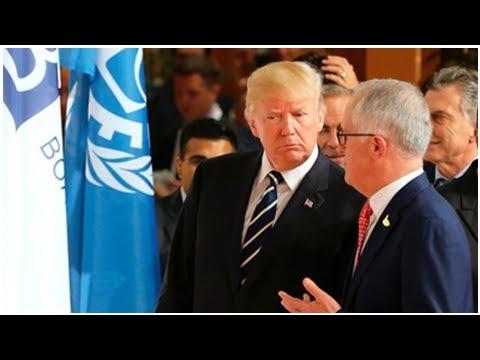Marine numbers in Darwin to rise as Turnbull, Trump talk security