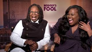 NOBODY'S FOOL Cast Interviews - Whoopi Goldberg and Amber Riley