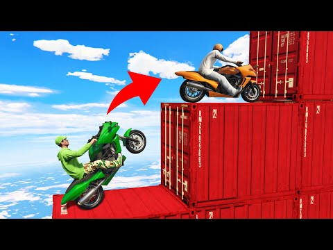 99% IMPOSSIBLE TO FINISH THIS SKILL COURSE! (GTA 5 Funny Moments) thumbnail