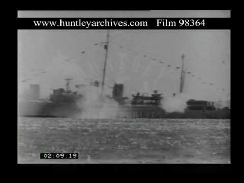 Naval Salute To King George V, 1930s - Film 98364