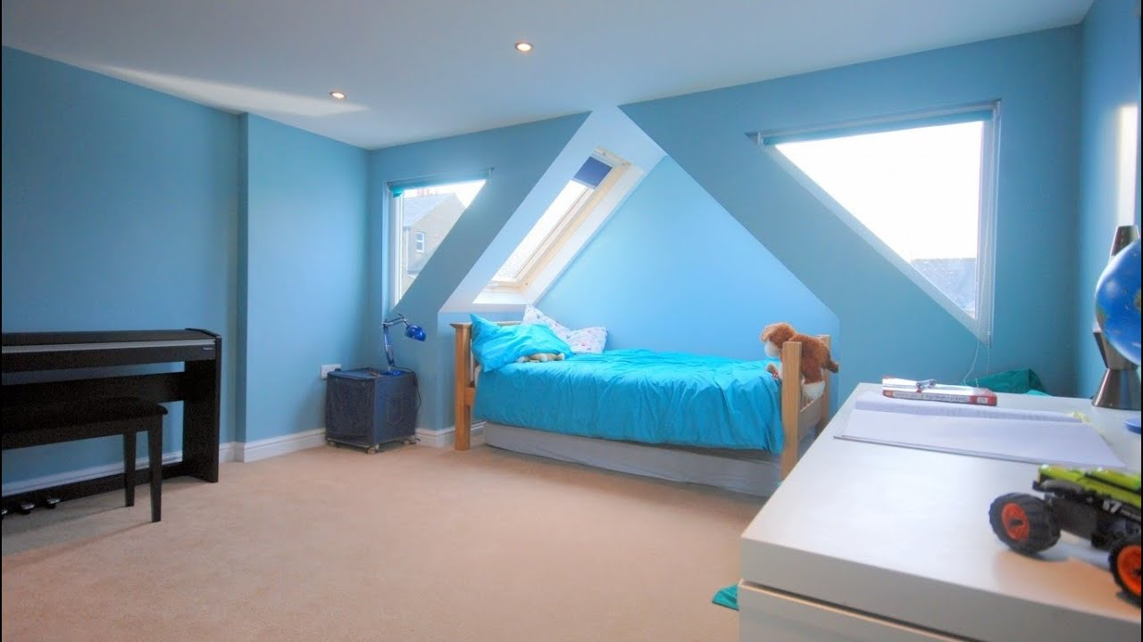27 cool attic bedroom design ideas room ideas youtube for Cool kids bedroom designs