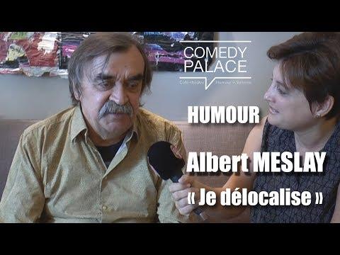 Gérard MESLAY, humoriste   Comedy Palace Valence