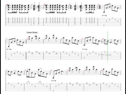 Metallica - Nothing Else Matters (Tab) - YouTube