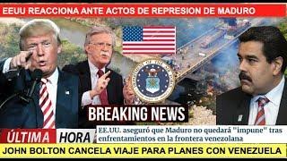 Esta es la reaccion de EEUU contra Maduro