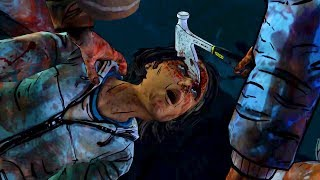 Clementine Kills Sarita with Axe (Walking Dead   Kenny's Reaction   Telltale Games) thumbnail