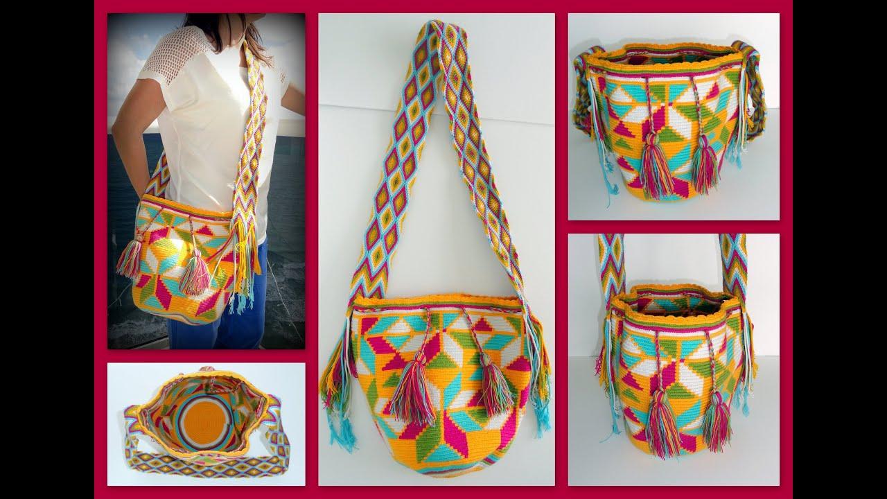 Folk Global Colombian Wayuu Bags Mochilas