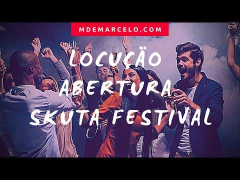 #locução Skuta Festival SP 2019