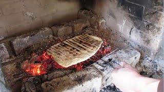 Хлеб на углях - как испечь