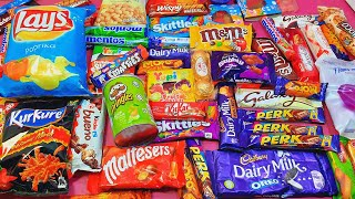 Lot's of Candies opening ASMR