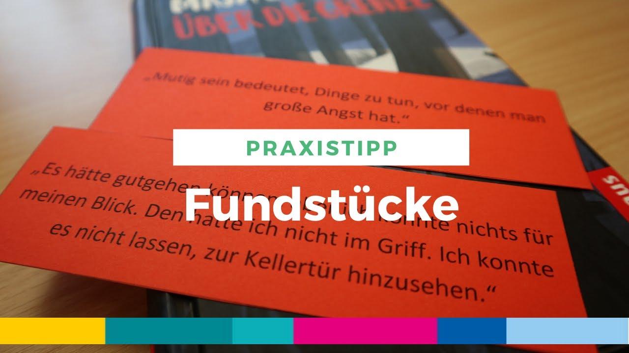 Praxistipp Fundstucke Mit Zitaten Neugierig Auf Bucher Machen Youtube