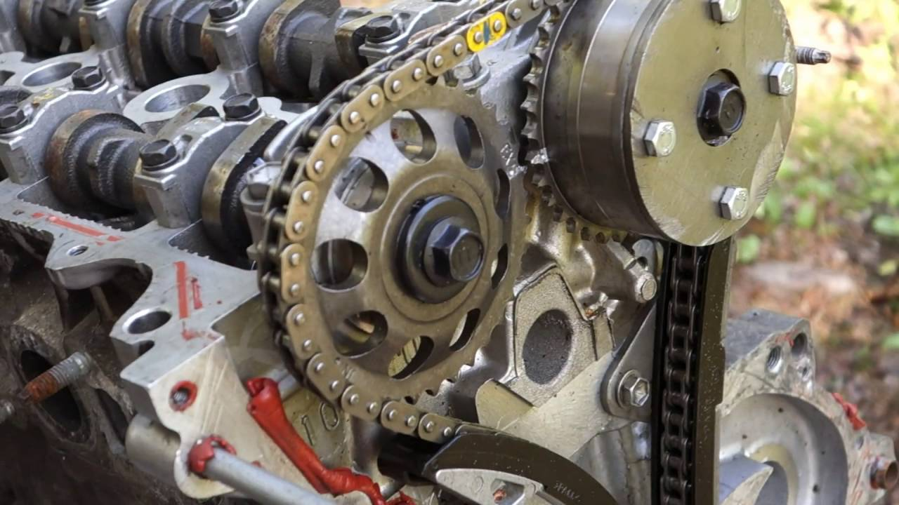 How to replace timing chain in engine or motor YouTube