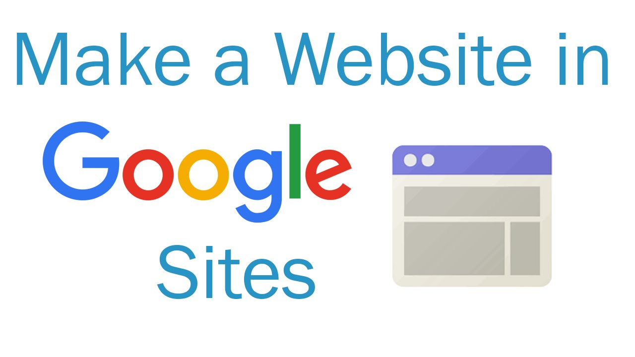 How To Make A Website In Google Sites Youtube
