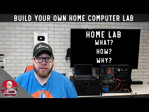 What Is A HomeLab?  How Can You Build Your Own And Why It's Useful!