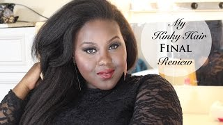 My Kinky Hair- Final Review Thumbnail