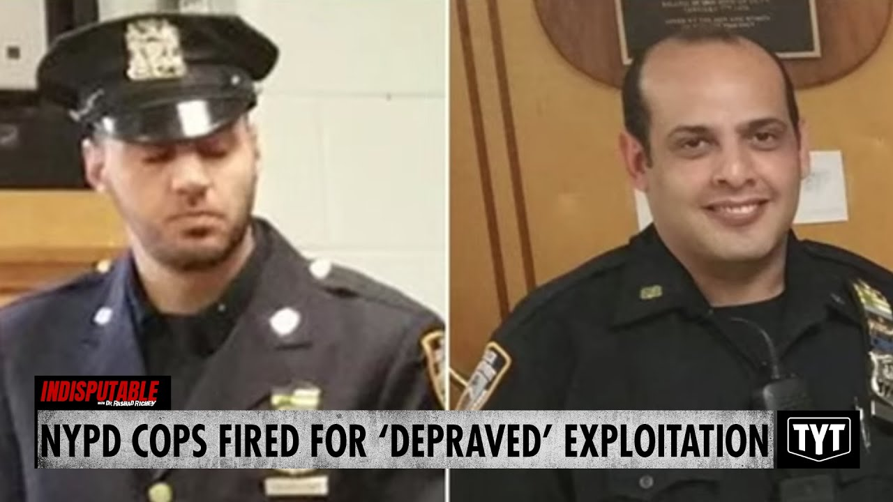 Two NYPD Cops Fired For 'Depraved' Exploitation