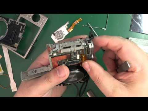 6P03 PANASONIC NV-GS3 DISPLAY FLEX KABLE REPARATUR ANLEITUNG / Kamera Handy Station Repair Guide