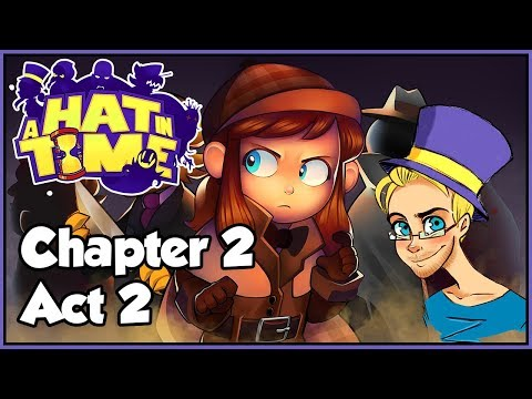| THERE'S BEEN A MURDER!!!  | A Hat In Time - Chapter 2, Act 2